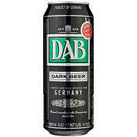 Пиво Dab темне фільтроване 4,9% ж/б 0,5л