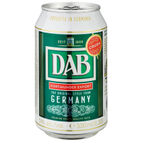 Пиво DAB ж/б 0,33л