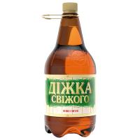Пиво Полтава Діжка світле пет 1,42л