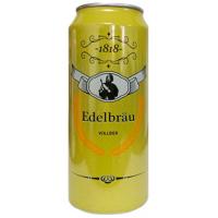 Пиво Edelbrau Vollbier 0,5л ж/б