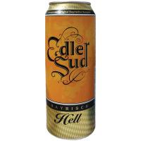 Пиво Edler Sud світле ж/б 0,5л