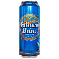 Пиво Fahnen Brau 0.5л з/б