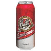 Пиво Gambrinus Original світле з/б 0,5л