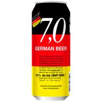 Пиво German Craft beer світле нефільтроване 5.6% 0,5л з/б