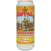 Пиво Grunderbier Hefeweizen Royal з/б 0.5л