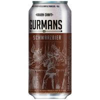 Пиво Gurmans темне 0,5л