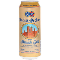 Пиво Hacker-Pschorr Munich Gold ж/б 0,5л