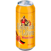 Пиво Helnrich der Lowe Wheat beer ж/б 0.5л