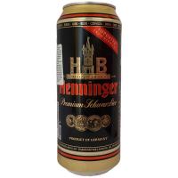 Пиво Henninger Premium темне з/б 0,5л