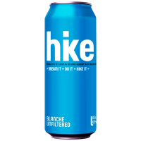 Пиво hike Blanche unfiltered ж/б 0.5л