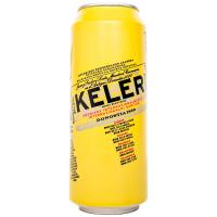 Пиво Keler Лагер ж/б 0,5л