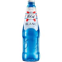 Пиво Kronenbourg 1664 Blanc світле фільтроване пастеризоване 4,8% 0.46л с/б