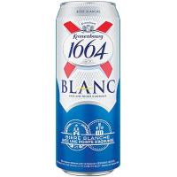 Пиво Kronenbourg 1664 Blanc світле з/б 0,5л