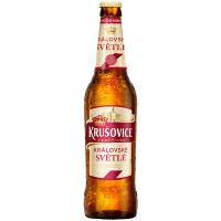 Пиво Krusovice Svetle 0,5л