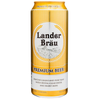 Пиво Lander Brau преміум 0,5л ж/б