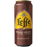 Пиво Leffe Brune темне фільтроване 6.5% ж/б 0,5л