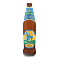 Пиво Львівське Фанатське світле пастеризоване 4,6% 0,5л