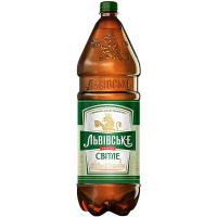 Пиво Львівське світле 2,3л