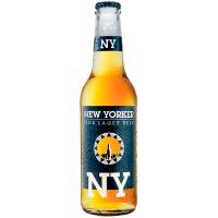 Пиво New Yorker Fine Lager с/б 0,33л
