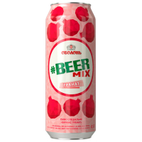 Пиво Оболонь Beermix гранат з/б 0.5л