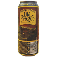Пиво Old Prague Dark Lager ж/б 0,5л