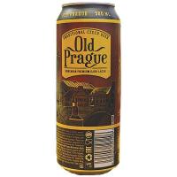 Пиво Old Prague Dark Lager ж/б 0,5л