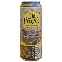 Пиво Old Prague Bohemian світле ж/б 0,5л