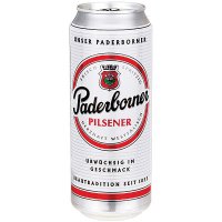 Пиво Padeborner Pilsener ж/б 0,5л