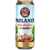 Пиво Paulaner Hefe-Weibbier ж/б 0,5л