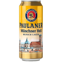 Пиво Paulaner Original Munchner ж/б 0,5л