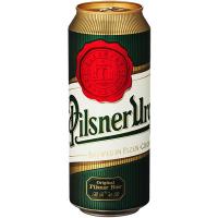 Пиво Pilsner Urquell світле з/б 0,5л