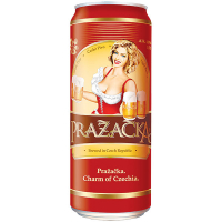 Пиво Prazacka світле ж/б 0,5л