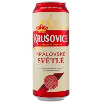 Пиво Радомишль Krusovice світле 0,5л з/б