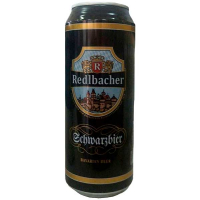 Пиво Redlbacher Schwarzbier темне з/б 0.5л