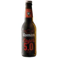 Пиво Roman Lager 5.0 с/б 0.33л
