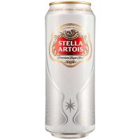 Пиво Stella Artois ж/б 0.5л