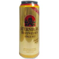 Пиво Sternburg Hefeweizen пшеничне 0,5л з/б