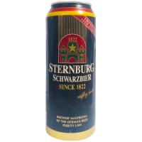 Пиво Sternburg Schwarzbier темне 0,5л з/б
