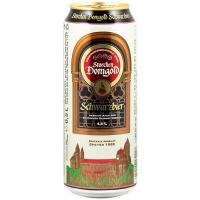 Пиво Strochen Domgold Schwarzbier ж/б 0,5л