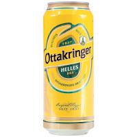 Пиво Ottakringer Helles світле ж/б 0,5л