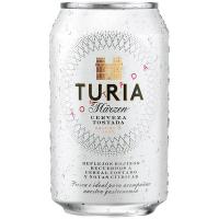 Пиво Turia солодове напівтемне ж/б 0.33л