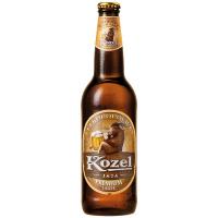 Пиво Velkopopovicky Kozel преміум світле 0,5л