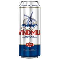 Пиво Dutch Windmill світле пшеничне нефільтроване 4,6% 0,5л з/б