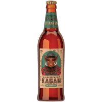 Пиво Жашківський Кабан Світлий Ель нефільтроване 0,5л