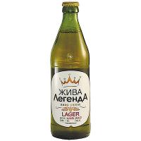 Пиво Жива ЛегенДА Lager 0,5л