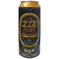 Пиво ZIH 0.5л ж/б
