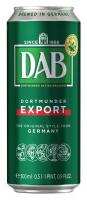 Пиво Dab Original світле фільтроване 5% ж/б 0,5л