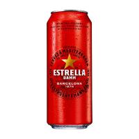 Пиво Estrella Damm Barcelona солодове ж/б 0,5л