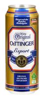 Пиво Oettinger Export світле фільтроване пастеризоване 5,4% ж/б 0,5л