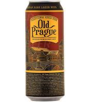 Пиво Old Prague Dark Lager Bohemian Premium Dark Lager темне фільтроване 4.4% ж/б 0,5л